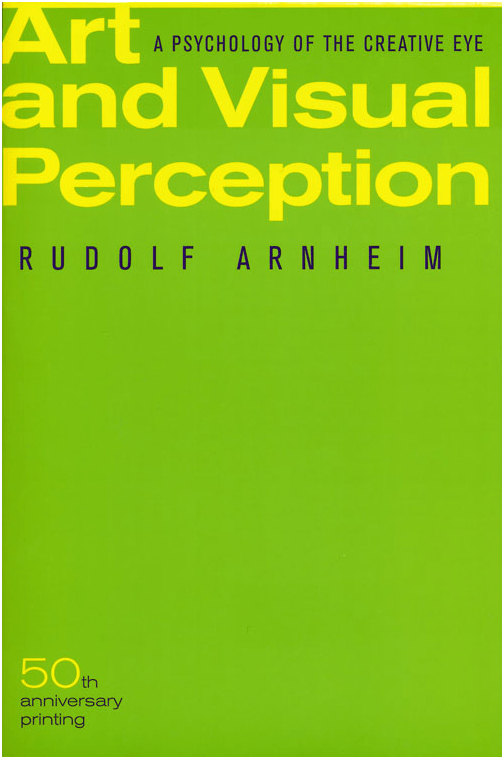Picture of the book- Art and Visual Perception