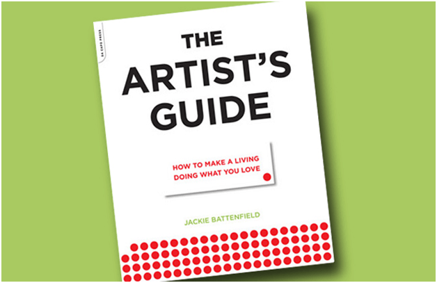 Picture of the book- The Artist's Guid